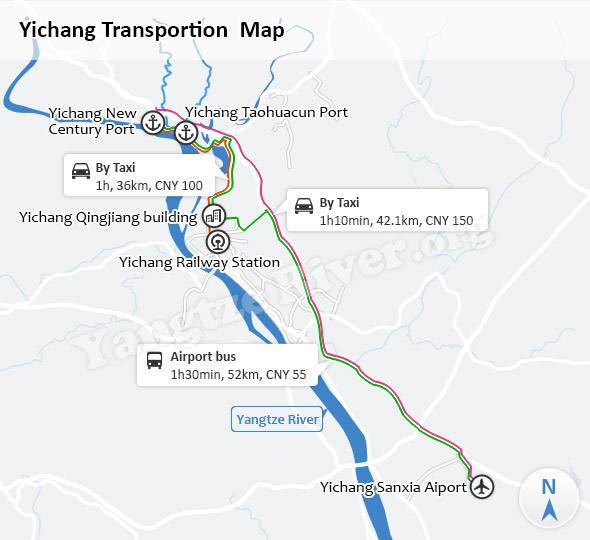 Yichang Transportion Map
