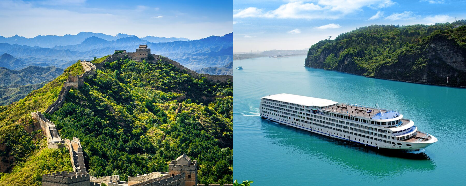 Beijing Great Wall and Yangtze Cruise Tour