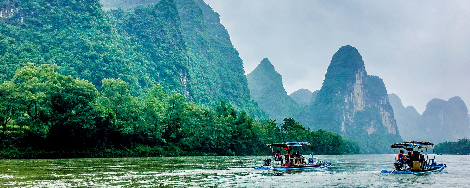Guilin Li River and Yangtze Cruise Tour