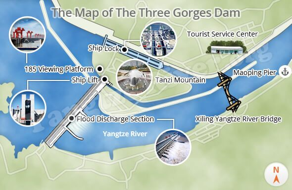 three gorges dam details about the huge water